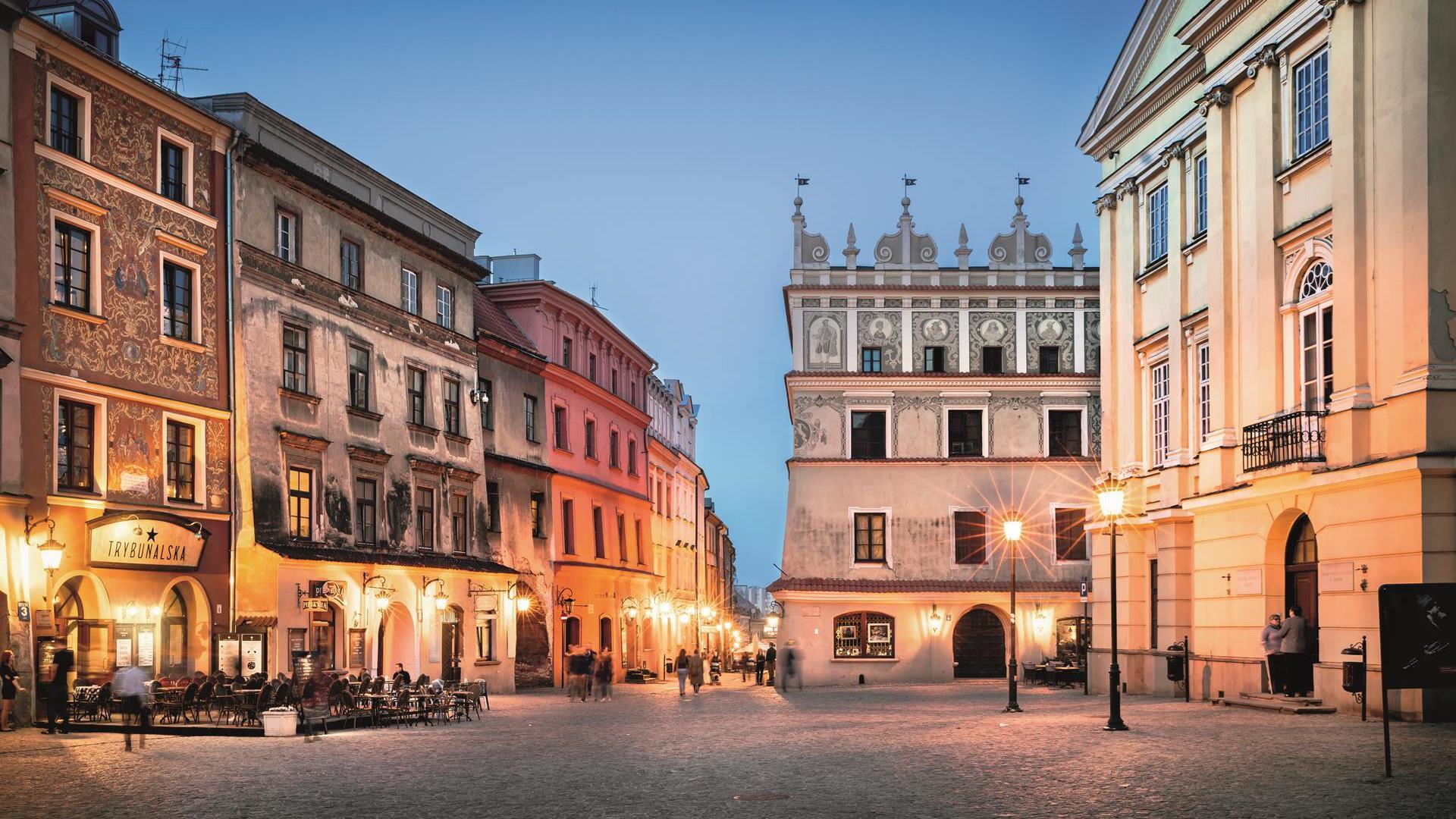 Rynek na Starym Mieście w Lublinie