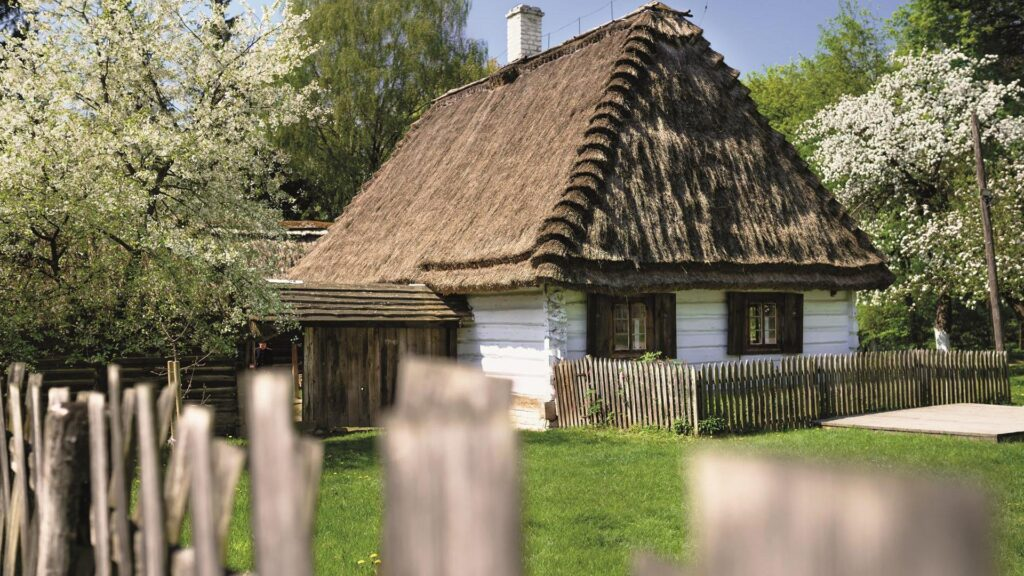 Cottage in The Lublin Open Air Village Museum