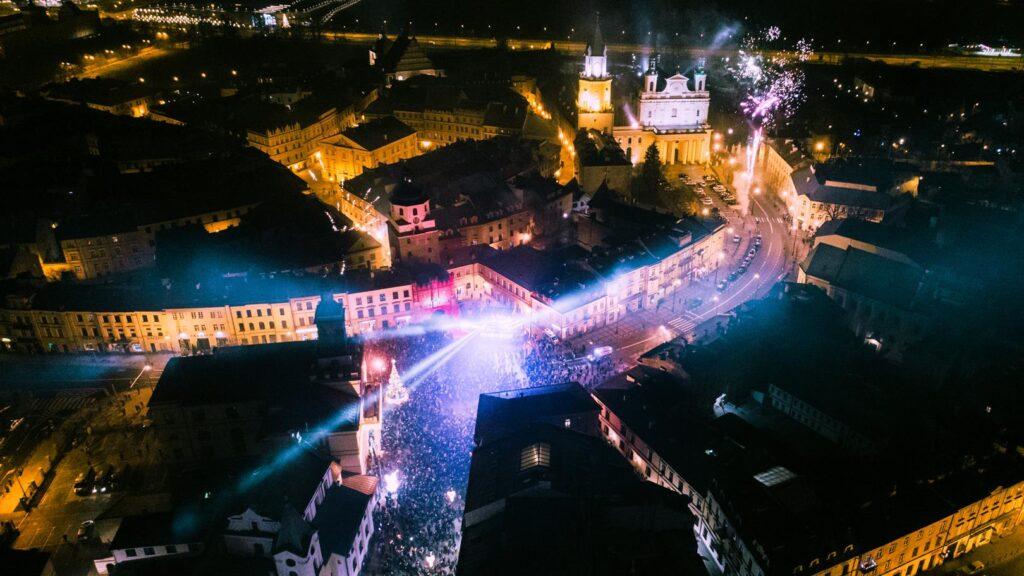 Sylwester miejski w Lublinie