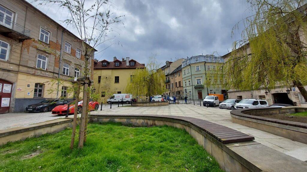The fish square