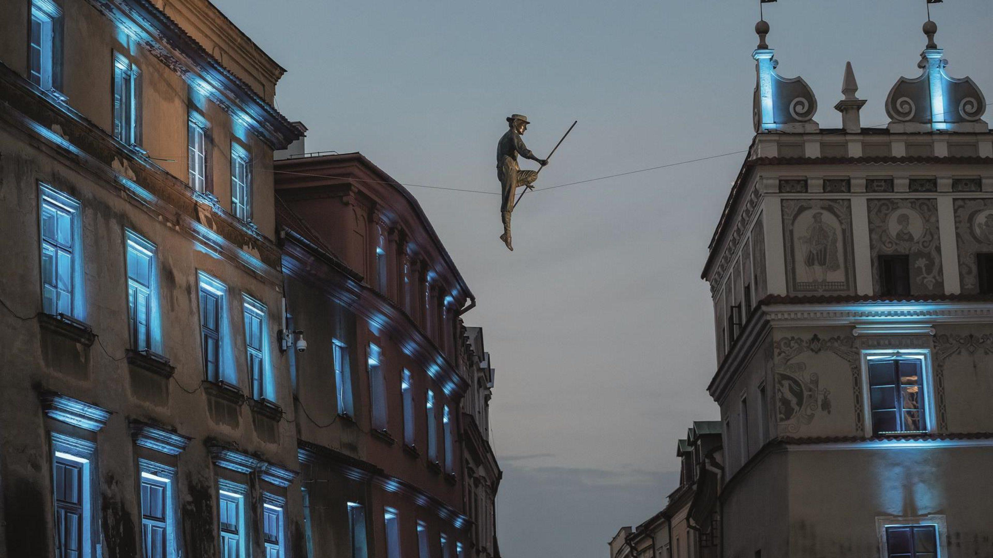 Sztukmistrz z Lublina - rzeźba Jerzego Kędziory