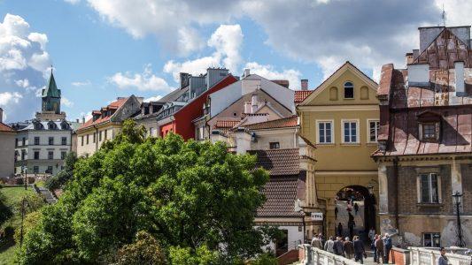 Widok na Stare Miasto ze Wzgórza Zamkowego