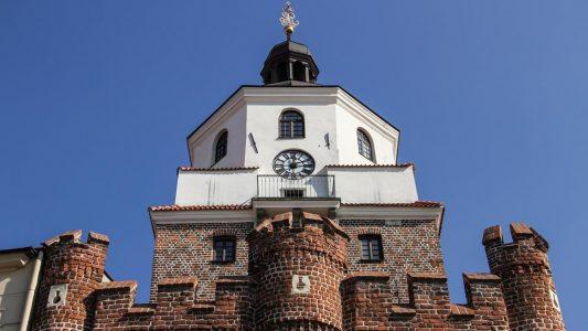 Zegar na Bramie Krakowskiej