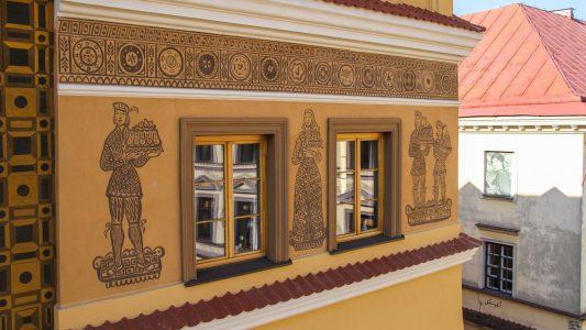 Fasada kamienicy przy Rynku 19