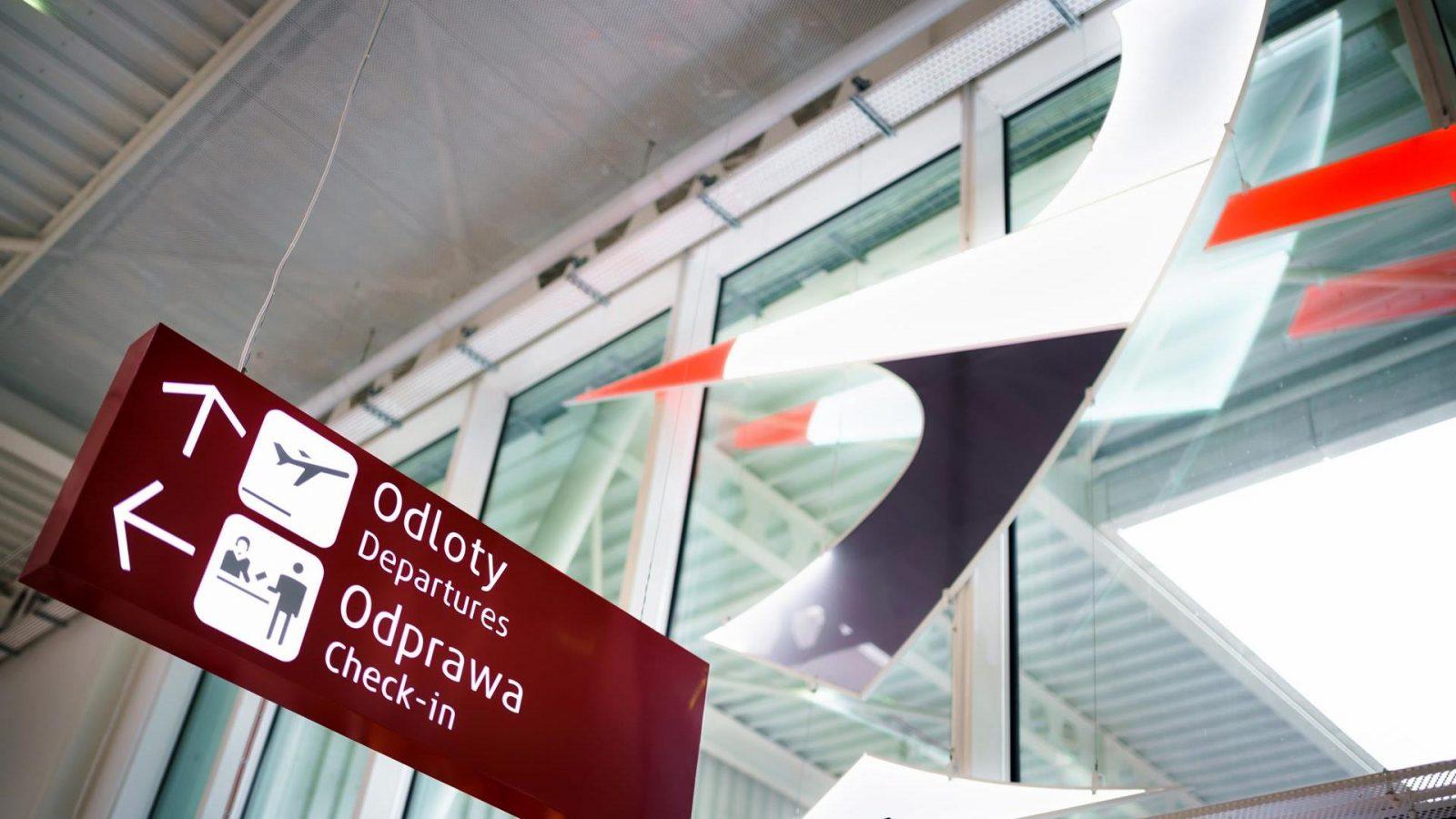 Wnętrze Portu Lotniczego Lublin